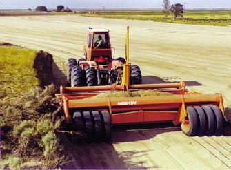 ground leveler machine